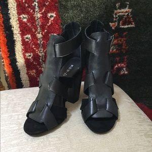 Black Strap Sandal